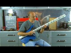 "How to Build ""The Strung Out"" - a PVC and wood bass guitar contraption - Cigar Box Nation"