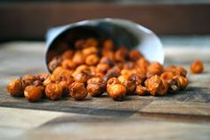 fat girl trapped in a skinny body: Baked Spiced Chickpeas - Secret Recipe Club