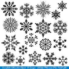 Fiocco di neve Clipart Clip Art fiocco di neve di PinkPueblo