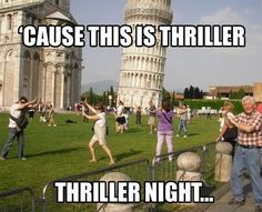 OMG - Hilarious! So many people stand in front of the Leaning Tower of Pisa like this! @Andrea Steinburg