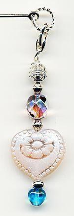 Captive Hearts Hair Stick Clip-OnTM  String My Heart Along   ManyHorsesJewelrySupply - Accessories on ArtFire