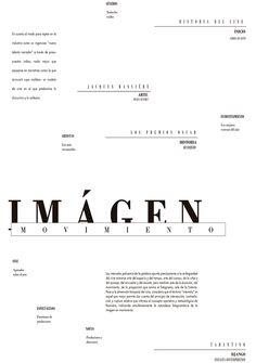 Editorial 01- Tipografía Longinotti II on Behance