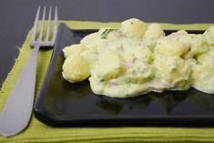 Gnocchetti crema di zucchine e prosciutto
