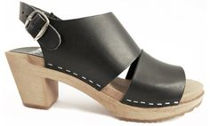 great heel height - platform in front looks good with jeans