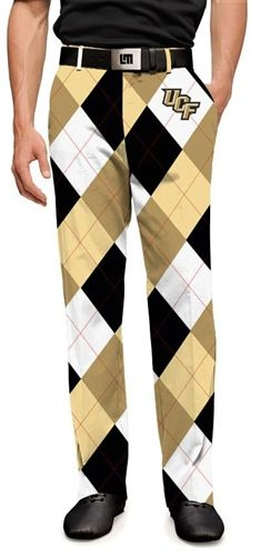 Loudmouth Golf MENS Made To Order Pants - UCF Knights.  Buy it @ ReadyGolf.com