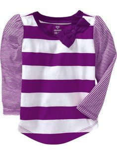 Old Navy | Big-Bow Long-Sleeve Tees for Baby