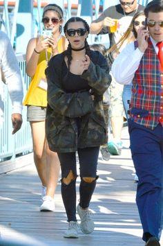 Kim at Disneyland in Anaheim, CA - June 15, 2016                                                                                                                                                      More