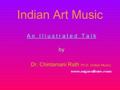 This presentation is about types of music in Indian styles