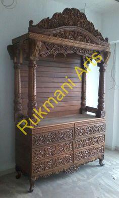 Pooja Mandir For Home Designs Room In Living
