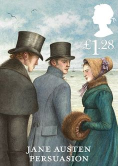The Royal Mail Unveils 'Jane Austen' Stamps