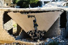 Hope in Darayya, by Unknown | 15 Works Of Art That Will Change The Way You See The Syrian Conflict