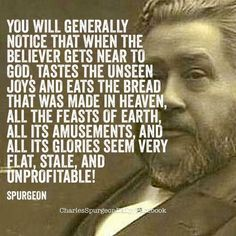 Spurgeon: you will generally notice that when the . Biblical Quotes, Spiritual Quotes, Faith Quotes, Bible Quotes, Bible Verses, Quotes Positive, Encouragement Quotes, Wisdom Quotes, Quotes Quotes