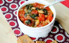 Easy White Bean & Spinach Soup