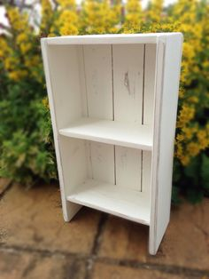 Pallet Wood Bookcase UK Recycled by used2beeShop on Etsy