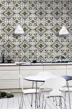 Mind The Gap Wallpaper Collection - Organic Tile - VIP Club - Product Previews