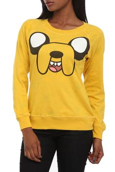 Adventure Time Reversible Pullover Raglan Top - 141477 from Hot Topic. Saved to We All Need Cute TOPS. Cool Outfits, Casual Outfits, Fashion Outfits, Woman Outfits, Fashionable Outfits, Fashion Clothes, Beautiful Outfits, Adventure Time Clothes, Cosplay