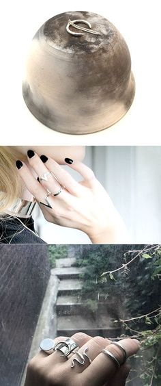 (UK-based Canadian designer Meg DeGraaf). The Carrotbox modern jewellery blog and shop — obsessed with rings
