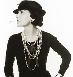 Coco Chanel from her millinery shop, opened in 1912, to the 1920s, rose to become one of the premier fashion designers in Paris, France. Replacing the corset with comfort and casual elegance, her fashion themes included simple suits and dresses, women's trousers, costume jewelry, perfume and textiles.