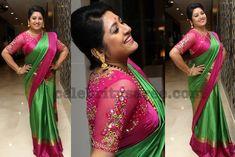 Sana Mirror Work Blouse - Saree Blouse Patterns
