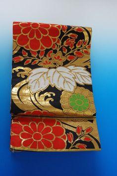 Kimono Dress Japan OBI Band used Fukuro Geisha band Vintage Kids 160411_510S2_3