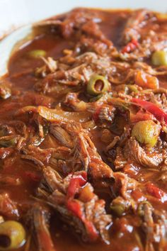 Ropa Vieja - My list of the best food recipes Top Recipes, Gourmet Recipes, Mexican Food Recipes, Cooking Recipes, Cooking Blogs, Steak Recipes, Cooking Games, Cooking Classes, Appetizer Recipes