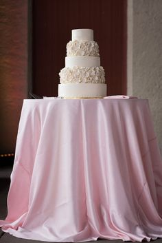 Handcrafted Flower-Adorned Wedding Cake | Ashley Fisher Photography https://www.theknot.com/marketplace/ashley-fisher-photography-saint-louis-mo-662212 | Dishy Event Planning https://www.theknot.com/marketplace/dishy-event-planning-st-louis-mo-379423 | The Cakery Bakery https://www.theknot.com/marketplace/the-cakery-bakery-st-louis-mo-369845