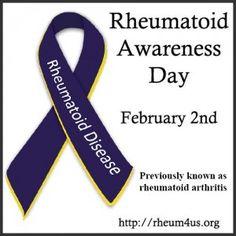 Rheumatoid Arthritis Awareness DayMom's Small Victories