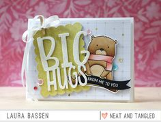 Laura Bassen: Neat & Tangled - Big Hugs die & Beary Merry