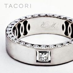 OMG. LUV THIS MENS BAND!!!  Capri Jewelers Arizona ~ www.caprijewelersaz.com Tacori Men