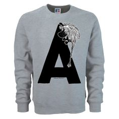 Moomin Alphabet sweatshirt  - A as in Ancestor - The Official Moomin Shop  - 1