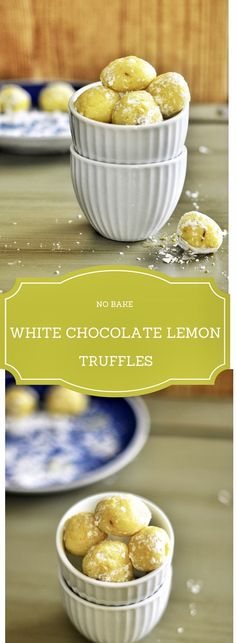 No Bake White Chocolate Lemon Truffles are nothing but White Chocolate flavored with Lemon zest and rolled into truffles. These are lusciously delicious and super addictive. They make great gifts and stay long as well.