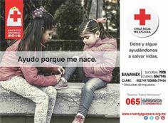 DONA Y SIGUE AYUDÁNDONOS A SALVAR VIDAS!! #Colecta2016 #CruzRojaGuasave