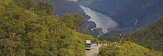 Experience fantatsic views of Doubtful Sound from the top of the Wilmot Pass