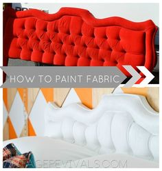 How To Paint Fabric Tutorial