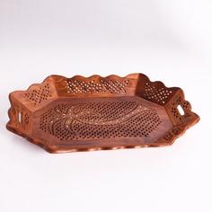 Ethnic Wooden Designer Utility Tray - Matrimony Gifts