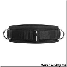 This lightweight, sturdy collar is outfitted with two layers, for extra security and durability. The inner layer is comprised of a soft, comfy layer of neoprene, with a back Velcro closure designed to fit any neck size. The outer layer is woven nylon, with a second Velcro band for even more security. The 3 D-rings on the front are ideal for attaching straps, leashes, and chains to. The double l... #Bondage #Gear #Bondage #Gear #Beginner #Bondage