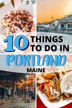 Looking for Things to Do in Portland, Maine? Check out my list below for all the best places to eat, where to drink, what to do and must-see sights. New England States, New England Travel, Maine Road Trip, Visit Maine, Portland Maine, Travel Portland, Travel Usa, Travel Maine, Travel City