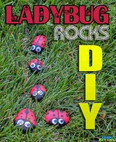 DIY Pet Rock Craft Ladybugs tutorial. Easy, kid-friendly! - SahmReviews.com