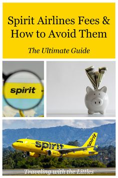 Deterred by Spirit Airlines fees? The key to keeping Spirit Airlines' fees down is acknowledging that it's a budget airline, keeping an open mind, and managing your expectations. With a little bit of planning you can fly Spirit comfortably and save money! #SpiritAirlines #SpiritBaggageFees #familytravel #familyvacation #travelingwiththelittles #CBtravels Air Travel Tips, Packing Tips For Travel, Travel Hacks, Travel Advice, Travel Essentials, Budget Travel, Travel Deals, Usa Travel, Travel Guides