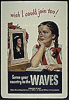 """WISH I COULD JOIN TOO!"" WAVES, 1941 - 1945"