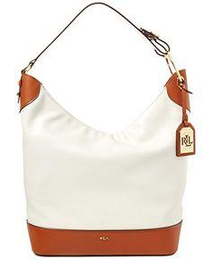 Lauren Ralph Lauren Dorrington Carissa Medium Hobo Bag