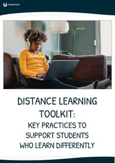 If distance learning is challenging for some of your students, you're not alone. This new toolkit, developed in partnership with the National Center for Learning Disabilities, has key distance learning strategies to support students who learn differently. Cult Of Pedagogy, Co Teaching, Dysgraphia, Assistive Technology, Learning Disabilities, Learning Centers, Special Needs, Special Education, Distance