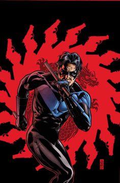 Nightwing by J.G. Jones