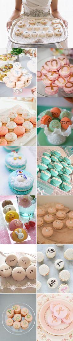 45  Macaron Wedding Favors and Wedding Cake Ideas   http://www.deerpearlflowers.com/45-macaron-wedding-favors-and-wedding-cake-ideas/