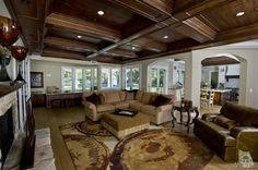 Gorgeous Coffered Ceilings