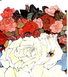 Paintings by Fleur Cowles from her book,
