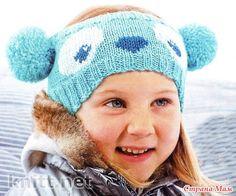 """Детская повязка на голову """"панда"""". - Жаккард - Страна Мам"""