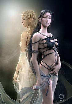 Goddess Etain - Shaya Linght & Darkness