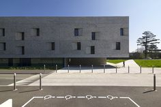 Conservatoire Henri Dutilleux | designed by Dominique Coulon. Belfort, France.