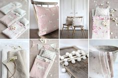 Vintage and French Inspired Fabrics by Peony and Sage